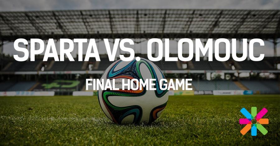 Sparta vs  Olomouc - Last home game   ESN CU Prague